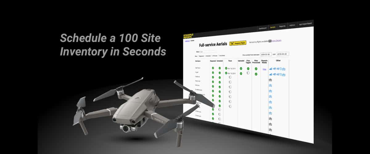 Introducing: The New and Improved Aerial Dashboard | Stockpile Reports
